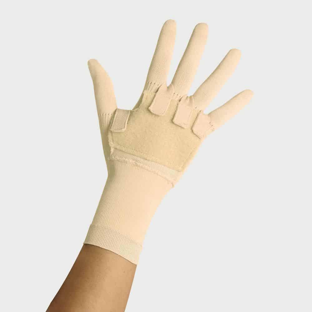 mainat şeritli parmakli eldiven