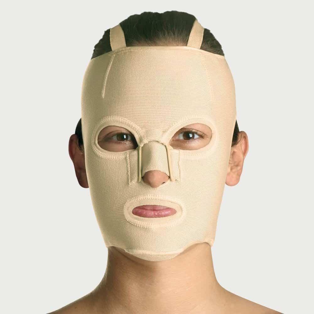 mainat yanik basi maskesi tam on yuz