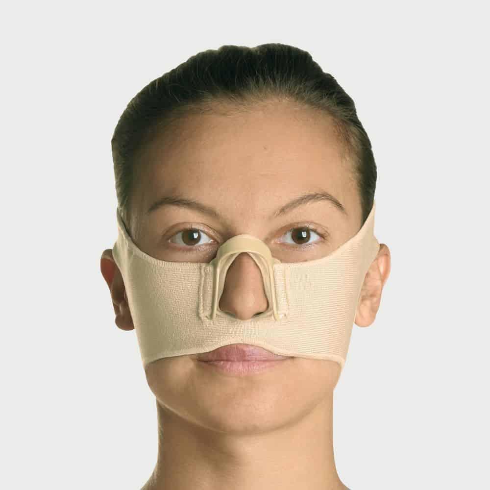 mainat yanik basi on yuz maskesi