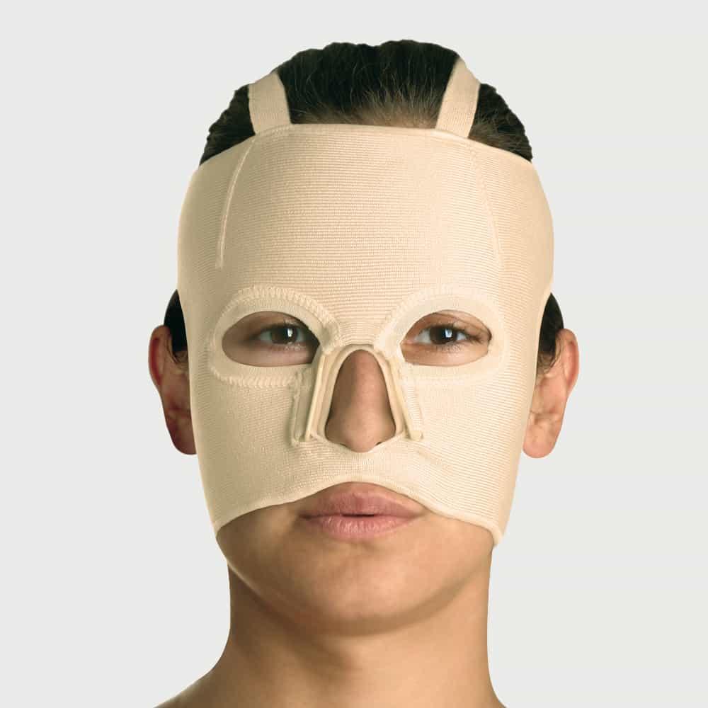 Yanık Bası Maskesi JM-026-B Çenesiz