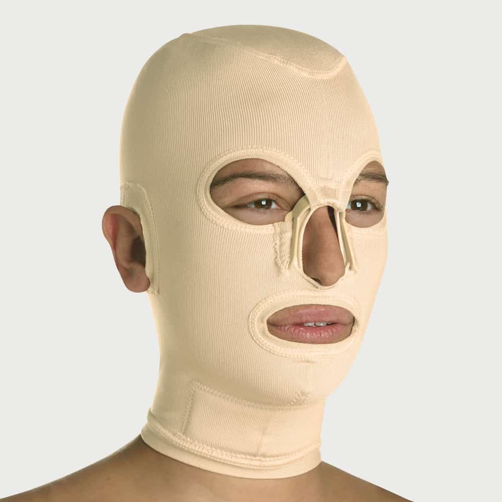 Yanık Maske JM-019-C Kapalı Yüz