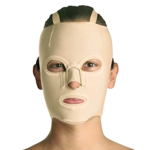 tam ön yüz yanık maskesi