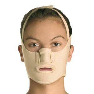 alınsız yanık bası maskesi