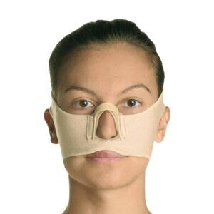 yarım ön yüz yanık maskesi