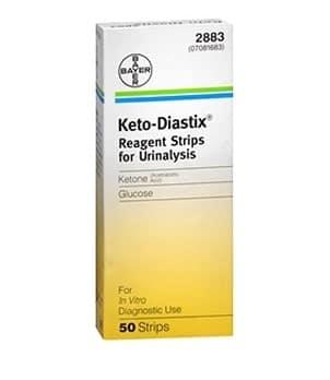 Keto Diastix Idrar Ölçüm Stribi 50 Adet